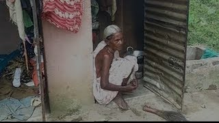 WATCH: Lady Protests In A Toilet In Odisha, Demands Home From The Government