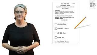 Auslan 2018 Council Elections SA