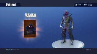 FORTNITE RAVEN SKIN FINALLY RELEASED!! (RAVEN OUTFIT, FEATHERED FLYER, IRON CAGE)