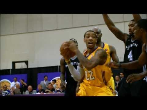 NBA D-League Gatorade Call-Up: Malcolm Thomas
