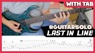 Last In Line - Guitar Solo - DIO - with TAB