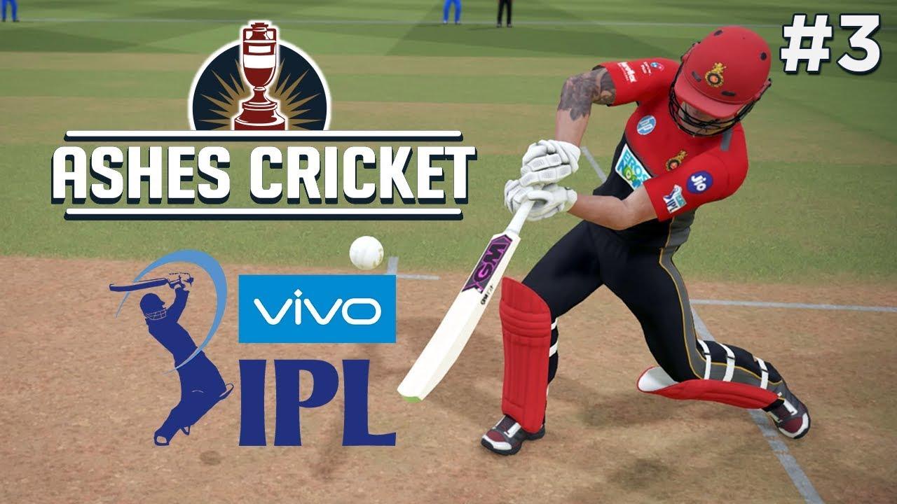 Ashes Cricket Ipl 2018 Game 3 Rr Vs Rcb