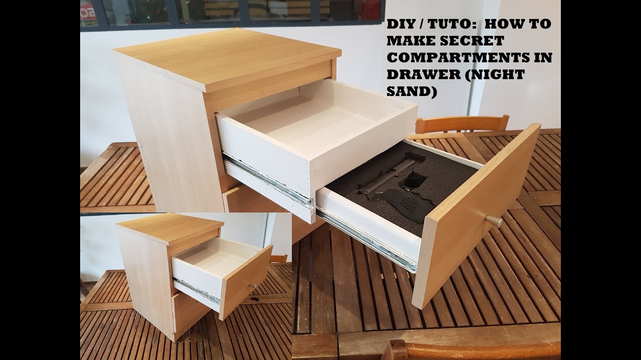 Diy Tuto How To Make Secret Compartments In Drawer