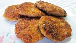 Куриные котлеты с кабачком Рецепт сочных куриных котлет