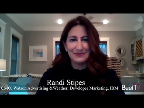 Artificial Intelligence Can Deliver on Ad Personalization: IBM Watson's Randi Stipes