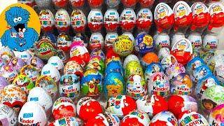 Супер Выпуск Открываю 200 Яиц С Сюрпризом с Яркими Игрушками Внутри. Unboxing 200 Surprise Eggs cмотреть видео онлайн бесплатно в высоком качестве - HDVIDEO