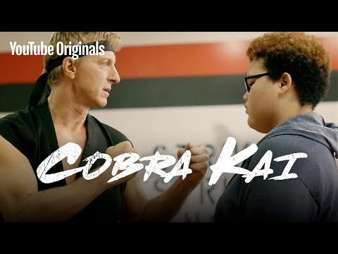Meet Johnny Lawrence. Bad Sensei. - Cobra Kai