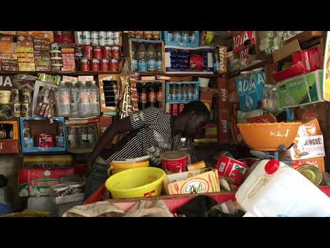 A trip to the Banjul market, Gambia