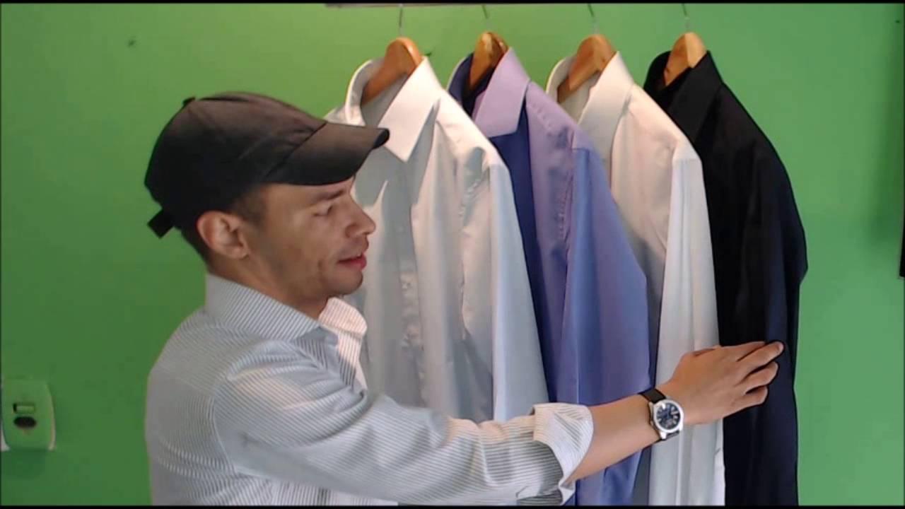 2858f76598dce Curso completo Camisa Social Masculina . - YouTube