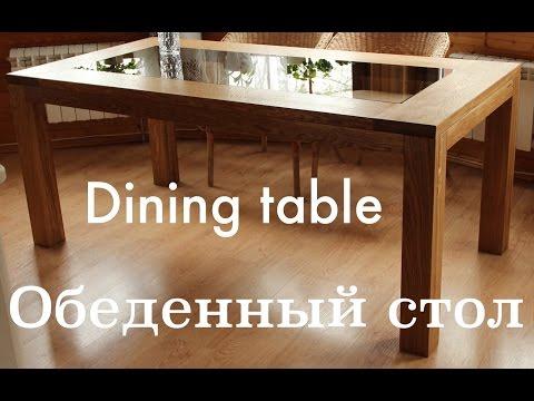 Oak dining table. Part 1 / Дубовый обеденный стол, часть 1. Подготовка деталей.