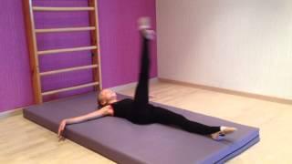 Художественная гимнастика. Разминка 1-я часть.(Ева Евтушенко., 2015-09-27T08:05:28.000Z)