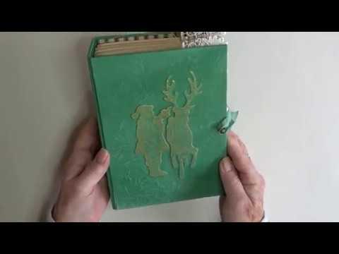 Vintage Santa Journal   reserved for Kathy