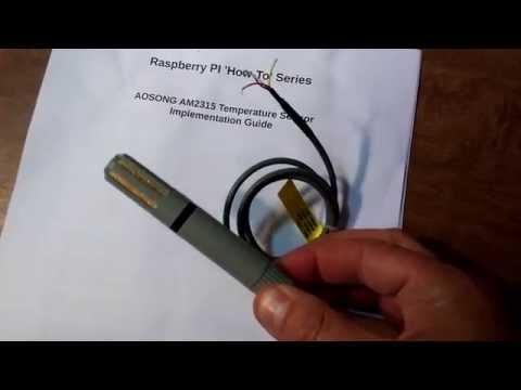 AM2315 Temp and Humidity Sensor Raspberry Pi