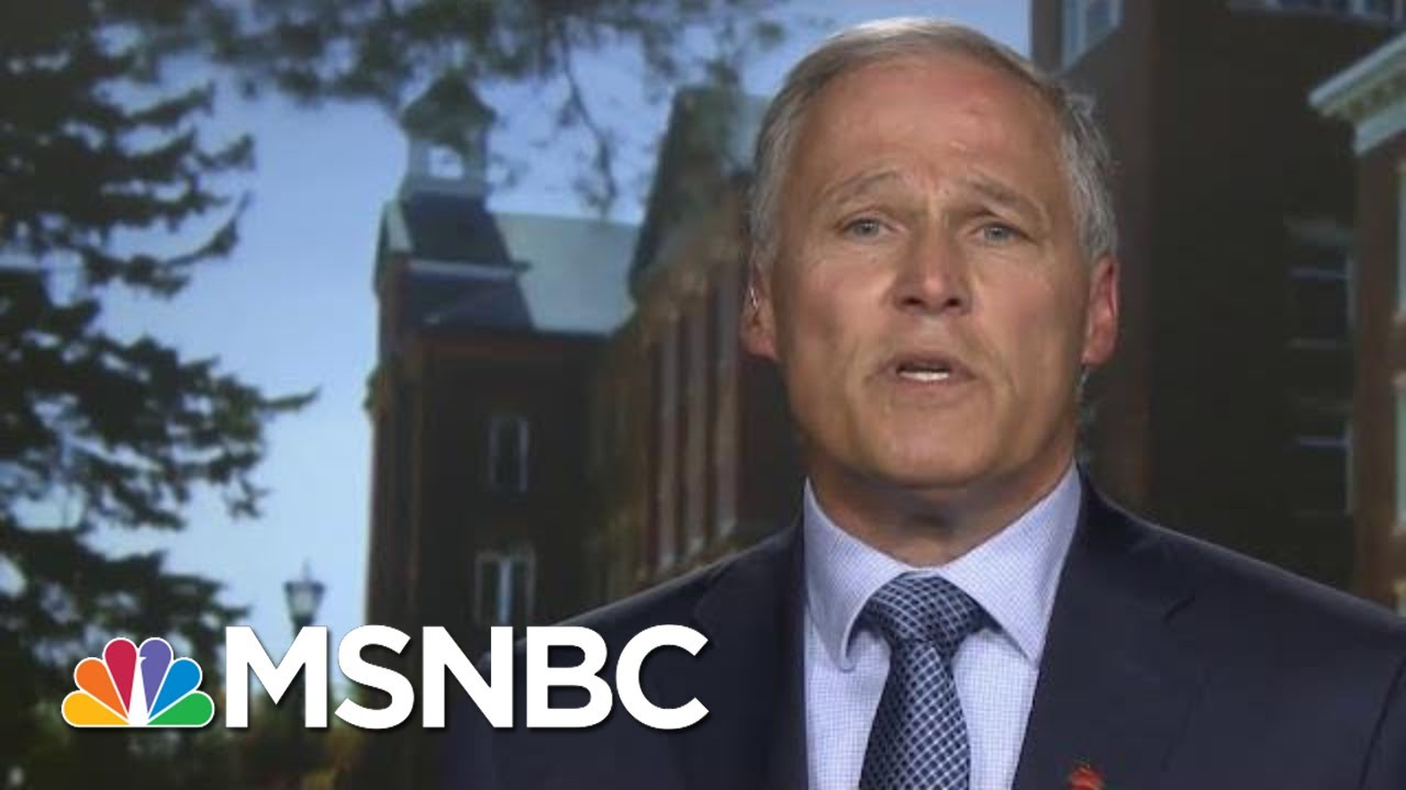 Full Jay Inslee: President Donald Trump Impeachment Is 'Inevitable' | MTP Daily | MSNBC