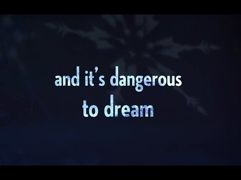 """Dangerous to Dream"" from FROZEN on Broadway (Official Lyric Video)"