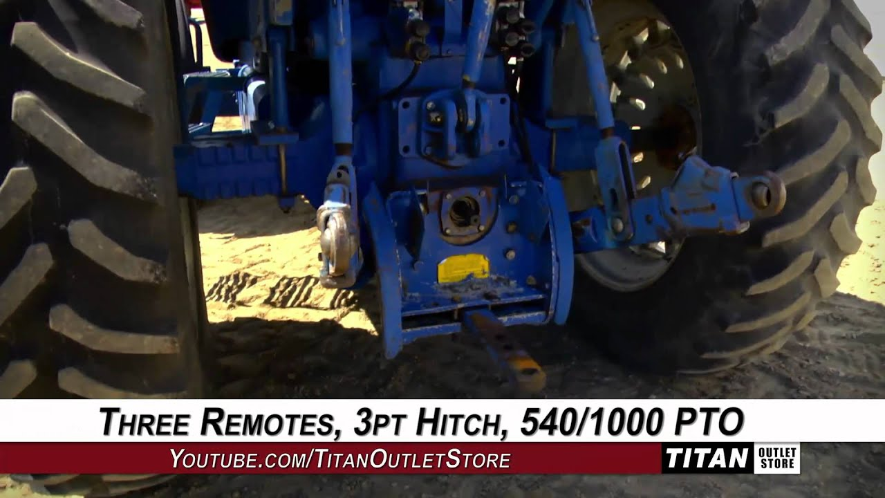 Ford Tractor Pto No 1962 : Ford hrs mfd remotes pt  pto