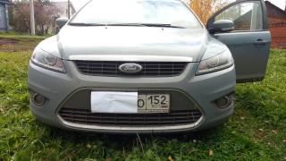 Ретрофит фар Ford Focus 2 би линзы, ДХО(На данный орд фокус установлены: биксеноновые линзы Morimoto mini H1, сверхъяркие COB ангельские глазки, ДХО с динам..., 2016-10-23T16:12:03.000Z)
