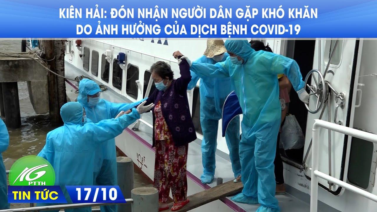 Kiên Hải đón nhận người dân gặp khó khăn do ảnh hưởng của dịch bệnh Covid-19 | THKG