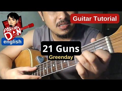 21 GUNS chords guitar tutorial - Greenday