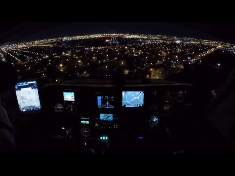 IFR Night Flight into MDW, Thank You Southwest Airlines for Sharing!