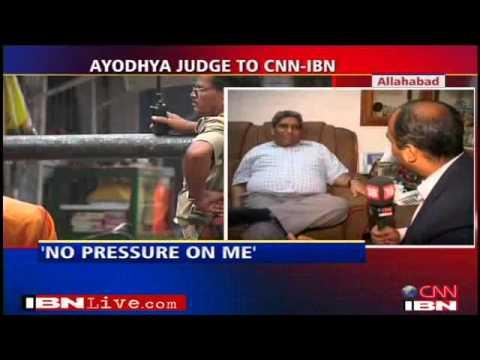 I was under no pressure says Babri Masjid judge