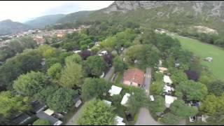 drone camping le pré lombard tarascon