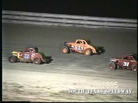 Texas Dirt | Dwarf Cars | South Texas Speedway | May 6 , 1995