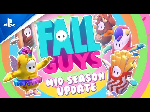 Fall Guys - Season 1 Mid Season Update | PS4