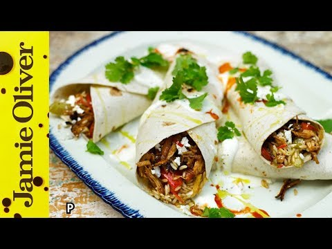 Tasty Cajun Rice & Turkey Burrito | Jamie Oliver & Uncle Ben's
