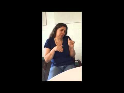 Indigenous in American Sign Language (ASL)