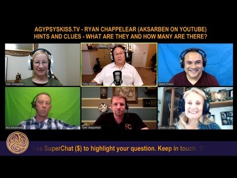 Panel: Ryan Chappelear (Aksarben on YouTube) + Hints and Clues