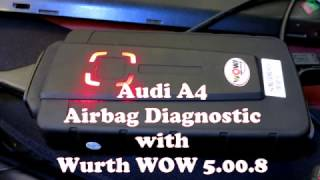 Diagnostic SRS Airbag (Audi A4 )