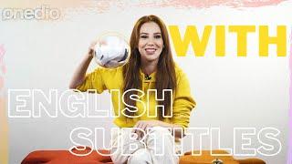Elçin Sangu Answers Your Questions at Onedio (English Subtitles)