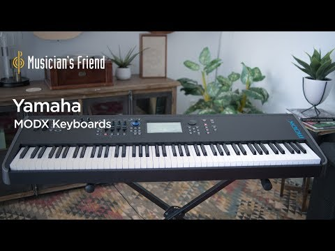 Yamaha MODX Synthesizer Demo and Overview - All Playing, No Talking