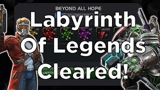 Labyrinth Of Legends Cleared! - Marvel Contest Of Champions