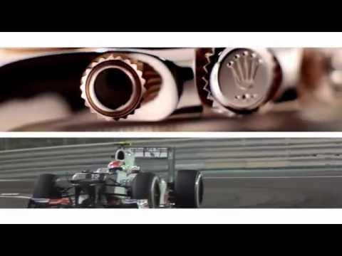 Formula One Rolex commercial