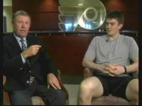 James Van Riemsdyk Coatesy's Corner Interview Philadelphia Flyers JVR Rookie