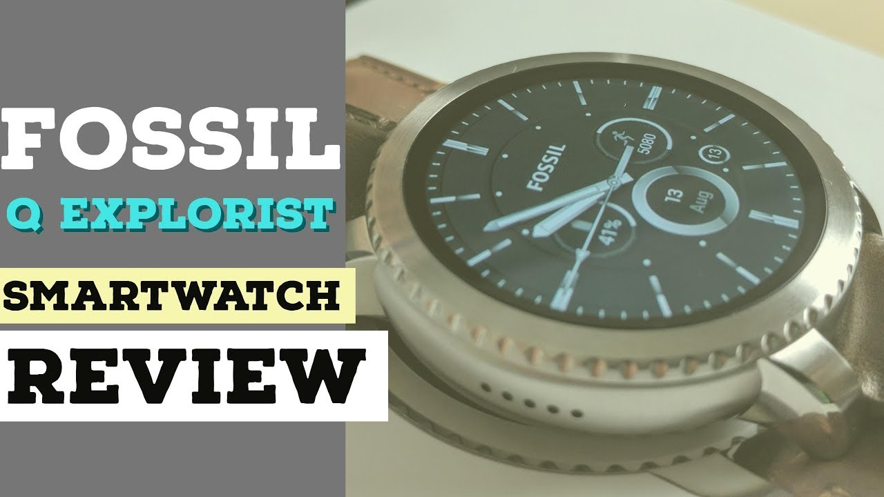 a52cce10a Fossil Gen 3 Q Explorist: Review - YouTube