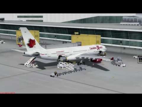 Airbus A330-200 Indira Gandhi (VIDP) to Dubai (OMDB) P3D v3.4