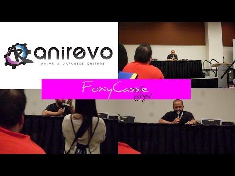 [AniRevo 2015] Richard Ian Cox (Q & A)