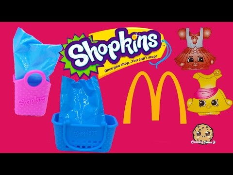 Mcdonalds Fast Food Happy Meals Exclusive Shopkins Seasons 1, 2, 3, 4 ? Blind Bags Part 2