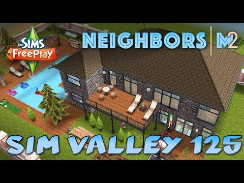 Sims FreePlay - SimValley125's 2nd House (Neighbor's Original House Design)