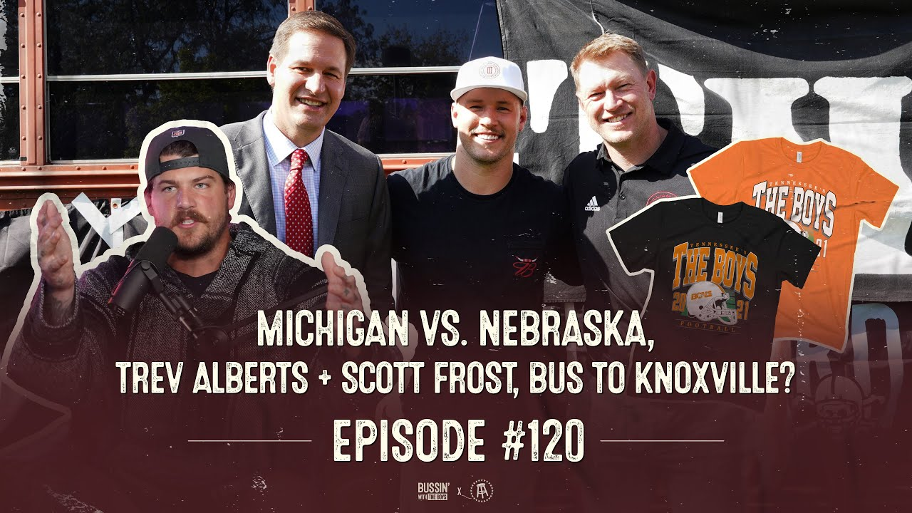 Download Scott Frost & Trev Alberts Welcome The Boys to Nebraska | Bussin' With The Boys