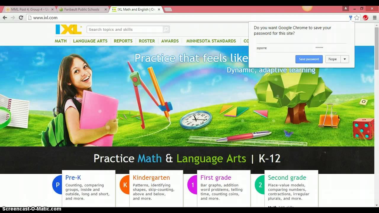 IXL Login Training - YouTube
