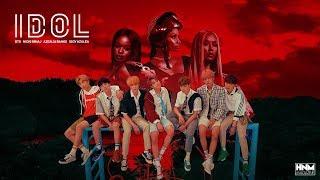 BTS, Nicki Minaj, Azealia Banks, Iggy Azalea - IDOL [MASHUP]