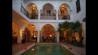 Riad Anyssates : luxe 9 suites avec piscine et hammam médina marrakech maroc