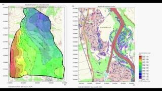 Flooding in Urban Areas (MIKE 11 + MIKE 21)