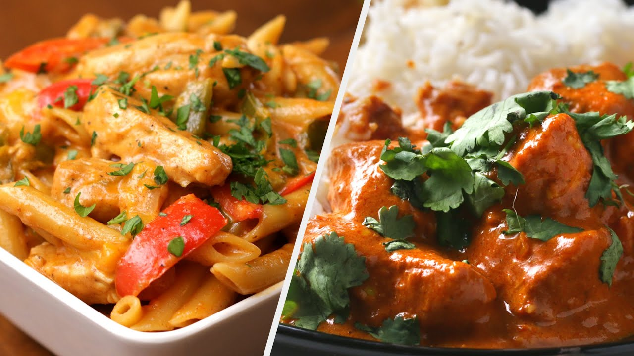 Chicken Dinner Recipes You Ll Never Get Bored Of Tasty Youtube