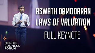 Aswath Damodaran – Laws of Valuation: Revealing the Myths and Misconceptions (FULL PRESENTATION)