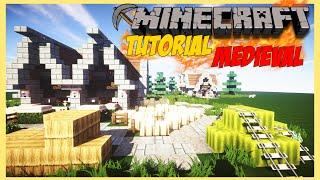 Minecraft Tutorial #2 Construa uma casa medieval em 15